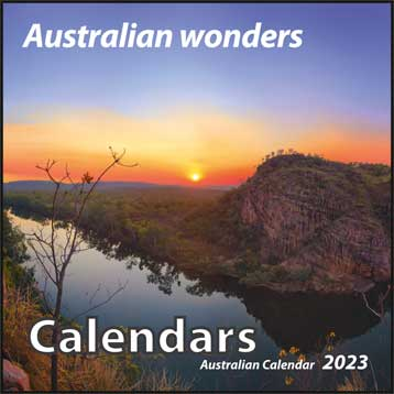 A wide range of calendars in various formats featuring fine art photography from Australia and the world
