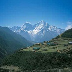 Himalaya Villages - Nepal H053 (sizes: 600x600; 900x900; 1080x1080mm)