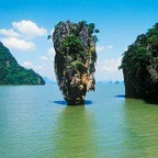James Bond Island - Thailand H054 (sizes: 600x600; 900x900; 1080x1080mm)