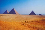 Pyramids of Giza - Egypt L501 (sizes: 400x600; 600x900; 900x1350mm)