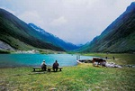 Anglers of the Alps - Austria L504 (sizes: 600x900; 900x1350mm)