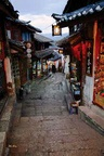 Stroll through the old city - China L519 (sizes: 600x400; 900x600; 1350x900mm)