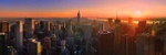 Manhattan sunset - USA P430 (sizes: 400x1200; 500x1500; 600x1800mm)