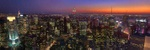 Manhattan night views - USA P431 (sizes: 400x1200; 500x1500; 600x1800mm)
