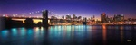 New York City by twilight - USA P433 (sizes: 400x1200; 500x1500; 600x1800mm)