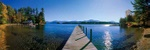 Autumn at Lake George - USA P436 (sizes: 400x1200; 500x1500; 600x1800mm)