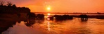 Sunset crossing - Botswana P527 (sizes: 400x1200; 500x1500; 600x1800mm)